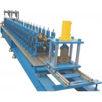 Cheap U Guide Rolling Shutter Making Machine With Rubber System 410~ 580mm for sale