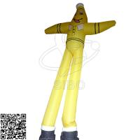 Cheap Large PVC Tarpaulin Inflatable Advertising Cartoon Man Air Dancer For Outdoor Decoration for sale