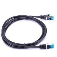 Cheap RJ45 Ethernet LAN Network Cat6 Patch Cable Male To Male Flat Cable RoHS Compliant for sale
