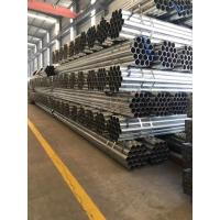 China Zinc Coating Threaded Steel Pipe Wear Resistant 20mm Steel Pipe For Construction on sale
