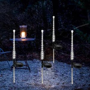 Cheap Solar Powered Garden Stake Lights Yard Lawn Path Light 25LED Waterproof Landscape Lamp Solar LED Meteor Shower for sale
