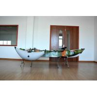 Plastic Sea Fishing Kayak Customized Color Well Performance With Rod Holders And Paddle