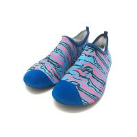 Cheap Athletic Wet Beach And Swim Shoes Walking Swimming Pool Footwear Heat Transfer Print for sale