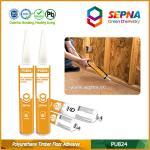 Cheap One Component Ocher Color Wood Floor Bonding Polyurethane Sealant for Timber Bonding PU824 for sale