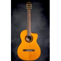 Cheap Single Cutaway Takamine Acoustic-Electric GC5CE Classical Cutaway Guitar for sale