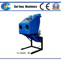 Cheap Dustless Reinforced Wet Sandblasting Cabinet Feed Abrasive 4 - 6kg For Fiberglass for sale