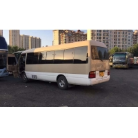 Cheap 23 Seats Diesel 1HZ Engine LHD Toyota Used Coaster Bus for sale