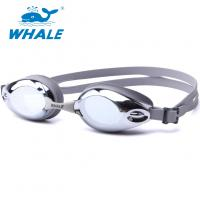 Cheap High Grade Mirrored Optical Swim Goggles Waterproof Easily Adjustable for sale