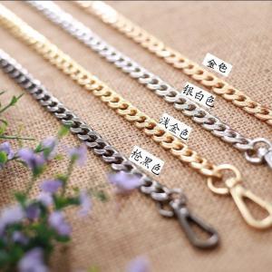 Cheap Stylish Handbag Strap Hardware , Metal Handbag Chains ROHS SGS Certificate for sale