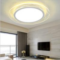 Cheap Ultra-thin New Modern Minimalist Acrylic Round Flowers LED Ceiling Lights for sale