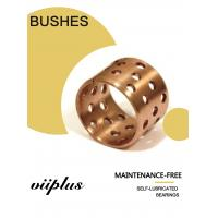 Buy cheap FB090 & 092 Tin Bronze Slide Bearing Oilless Bronze Bushing with Holes Tolerance from wholesalers