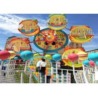 Cheap 6 Cabins Rotating Amusement Park Ferris Wheel With Galvanized Steel Material for sale