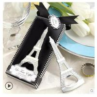 Cheap New creative gift product wedding gift Eiffel Tower shape bottle opener for sale