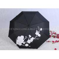 Cheap Creative Colour Changing Umbrella , Plastic Handle Fold Away Umbrella for sale