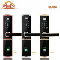 Cheap Touch Keypad Fingerprint Door Lock IC Card Access Control And Remote Controller for sale