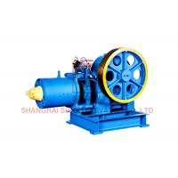 Cheap Compact Geared Traction Machine For Elevator / Lift With Stable Operation for sale