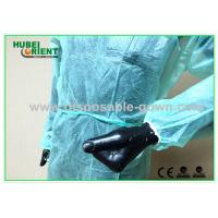 Non Sterilized Soft Disposable Scrub Jackets Nonwoven Environmentally Friendly