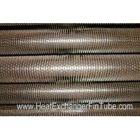 Cheap U Bent Welded Spiral Evaporator Tube , SA210 Gr. C SMLS Carbon Steel Tube for sale
