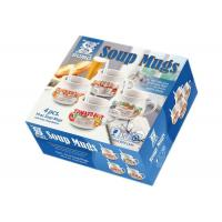 Morden Soup Mugs Food Box Printing , Subscription Box Printing One Sdie Coated Paper