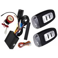 China Passive Auto Keyless Entry Motorcycle Alarm System With Shock Sensor Alarm Trigger on sale