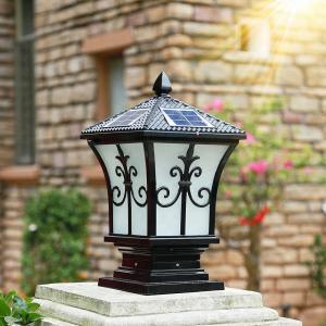 Cheap Low Voltage Solar Fence Post Caps 4x4 / Home Depot Solar Deck Post Cap Lights for sale
