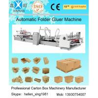 Cheap Automatic Folder Gluer Carton Packaging Machinery 14.5KW 380V 50HZ , 3 Phase for sale