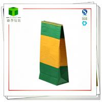 Buy cheap Wood charcoal and coal Kraft Square bottom paper bag from wholesalers