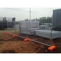 Cheap temporary fencing panels 42 microns hot dipped galvanized as4687-2007 standard 1800mm height ,2100mm NZ TIMARU for sale