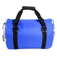 Cheap Blue Roll Top Waterproof Sports Bag 0.5mm Thickness With Shoulder Straps for sale