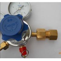Cheap Forged Brass Body Double Gauge Co2 Beer Regulator 3000/3500 Psi Max Input Pressure for sale