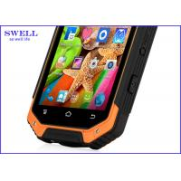 Android 4.4 NFC Waterproof Mobile Phones For Large Warehouse Management