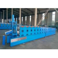 Cheap Main Power 4Kw Gutter Forming Machine 17 Stations PPGI / GI / GL Raw Material for sale