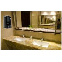 Cheap Wall Mounted Automatic Bathroom Hand Soap Dispenser Black 1000ML Capacity for sale