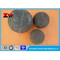 China High chrome hot rolling steel balls alloy casting grinding ball for mining on sale