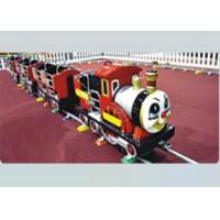 Cheap 2-8 Years Old Kids Ride On Train With Track Security For Residential Area for sale