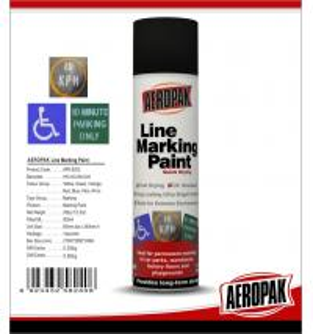 Weather Proof Road Marking Spray PaintFor Concrete / Asphalt / Glass