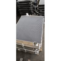 Cheap Customized Aluminum finned tube heat exchanger for water cooler radiator for sale