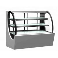 Cheap Commercial Cake Display Showcase Glass Bakery Display Cabinet Refrigerator Showcase for sale