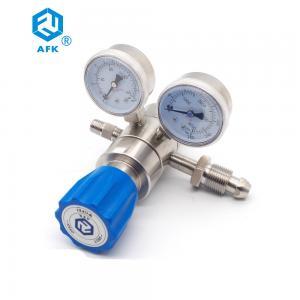 Cheap Low Pessure 500psi Nitrogen Adjustable Argon Dual Stage Pressure Regulator for sale