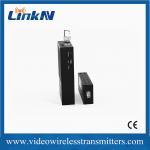 Cheap H.264 Encoded COFDM Video Transmitter Long Range Light Weight for sale