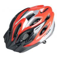 Cheap NEW Cycling Bicycle MERIDA Adult Mens Bike Helmet RED with Visor for sale