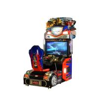 Buy cheap Upright Car Racing Coin Operated Game Machine For Shopping Mall from wholesalers