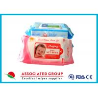 Buy cheap Aloe / Vetamin E Natural Baby Wipes No Chemicals Hand / Mouth Cleaning Hyginen from wholesalers