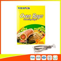 Multi Purpose Oven Cooking Bags For Food Storage , Plastic Oven Bags For Cooking
