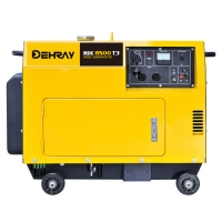 Cheap ISO 9001 8KW 950×530×740mm Silent Gasoline Generator for sale
