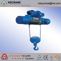 Cheap High Quality 3ton Electric Lighting Hoist With Trolley for sale
