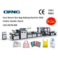 Cheap Supplier Of High Efficiency Automatic Non Woven Fabric Bag Making Machine for sale