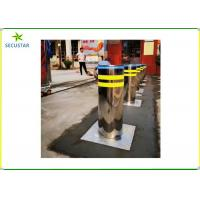 Quality Stainless Steel Automatic Rising Bollards 219mm Diameter For Vehicle Blocking wholesale