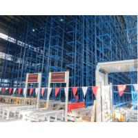 Cheap Multi Tier ASRS Automated Warehouse Racking Systems With Powder Coating Surface Treatment for sale