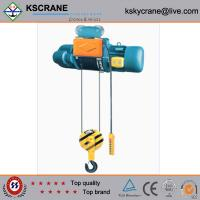 Buy cheap Safe Driving 16t Rail Wire Rope Hoist On Rail from wholesalers